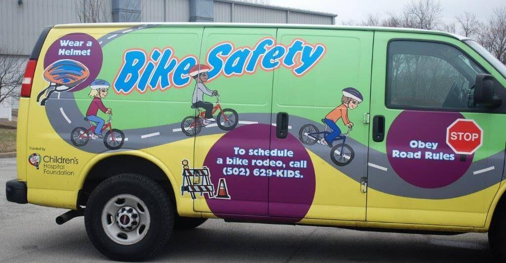 2019 KidsFest - Norton Healthcare Bike Safety Van