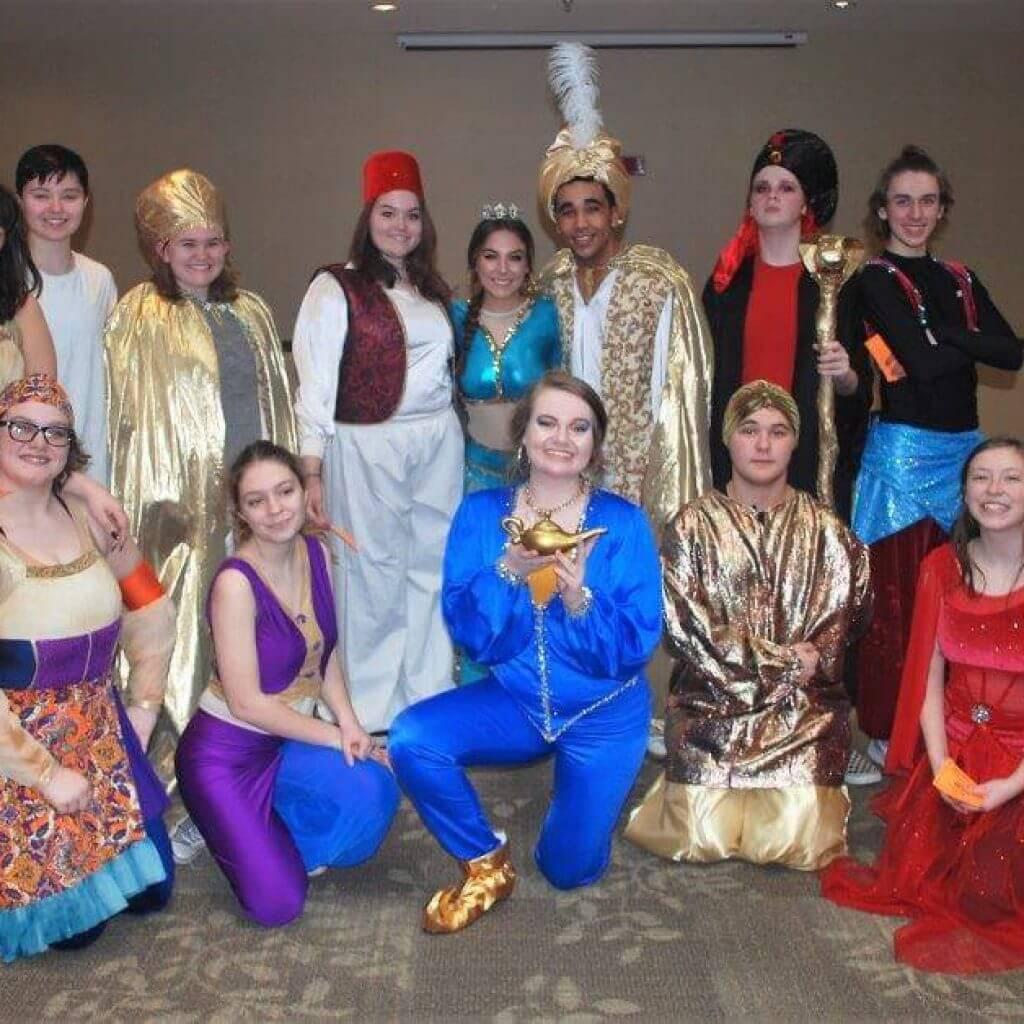 2019 KidsFest - Student cast of Bullitt Central High School's production of 'Aladdin'
