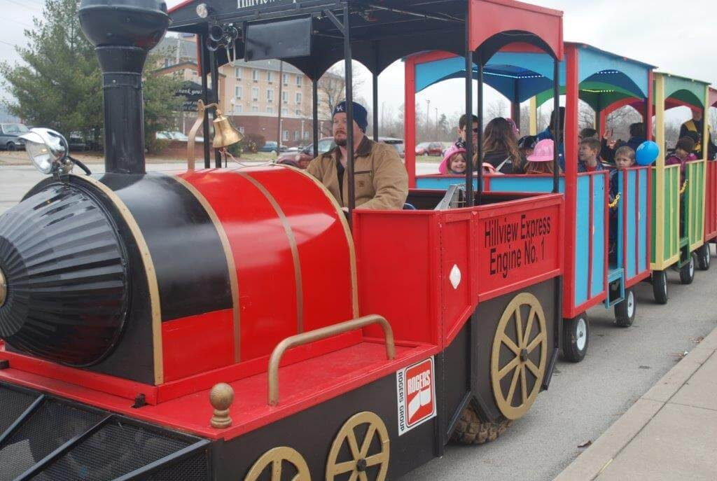 2019 KidsFest - City of Hillview's 'Hillview Express' train