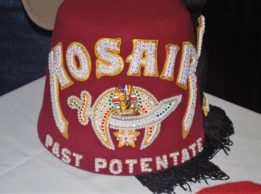 2019 KidsFest - Kosair Charities Shriner hat sits on a table at the event