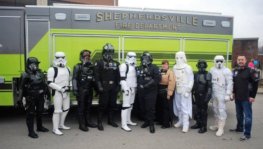 2019 KidsFest - 501st Legion dressed in Star Wars costume