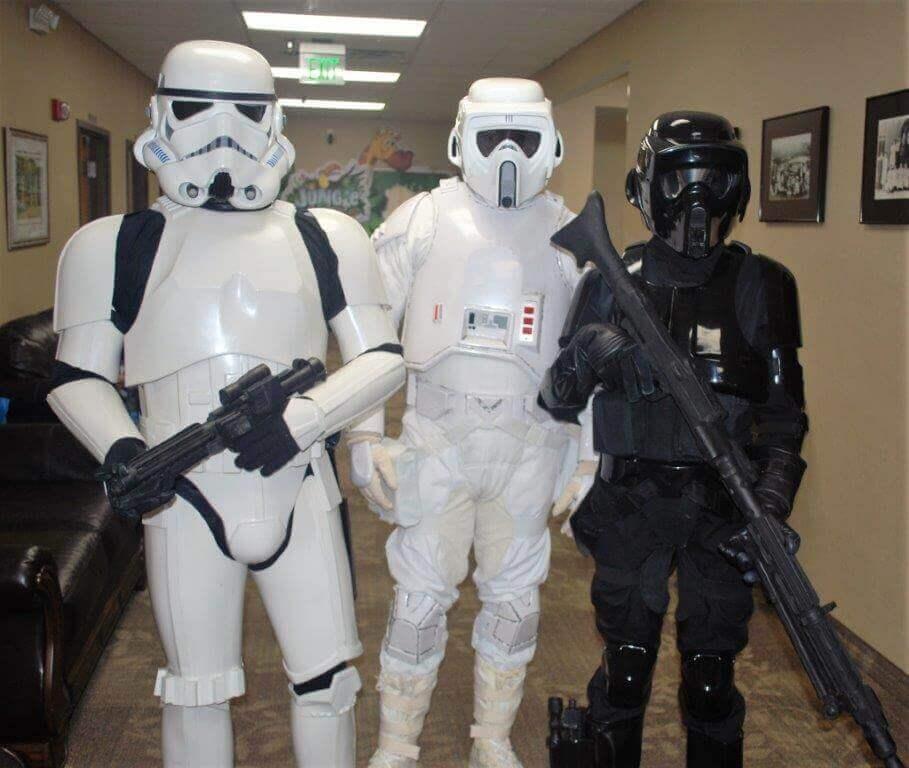 2019 KidsFest - 501st Legion in Star Wars costumes