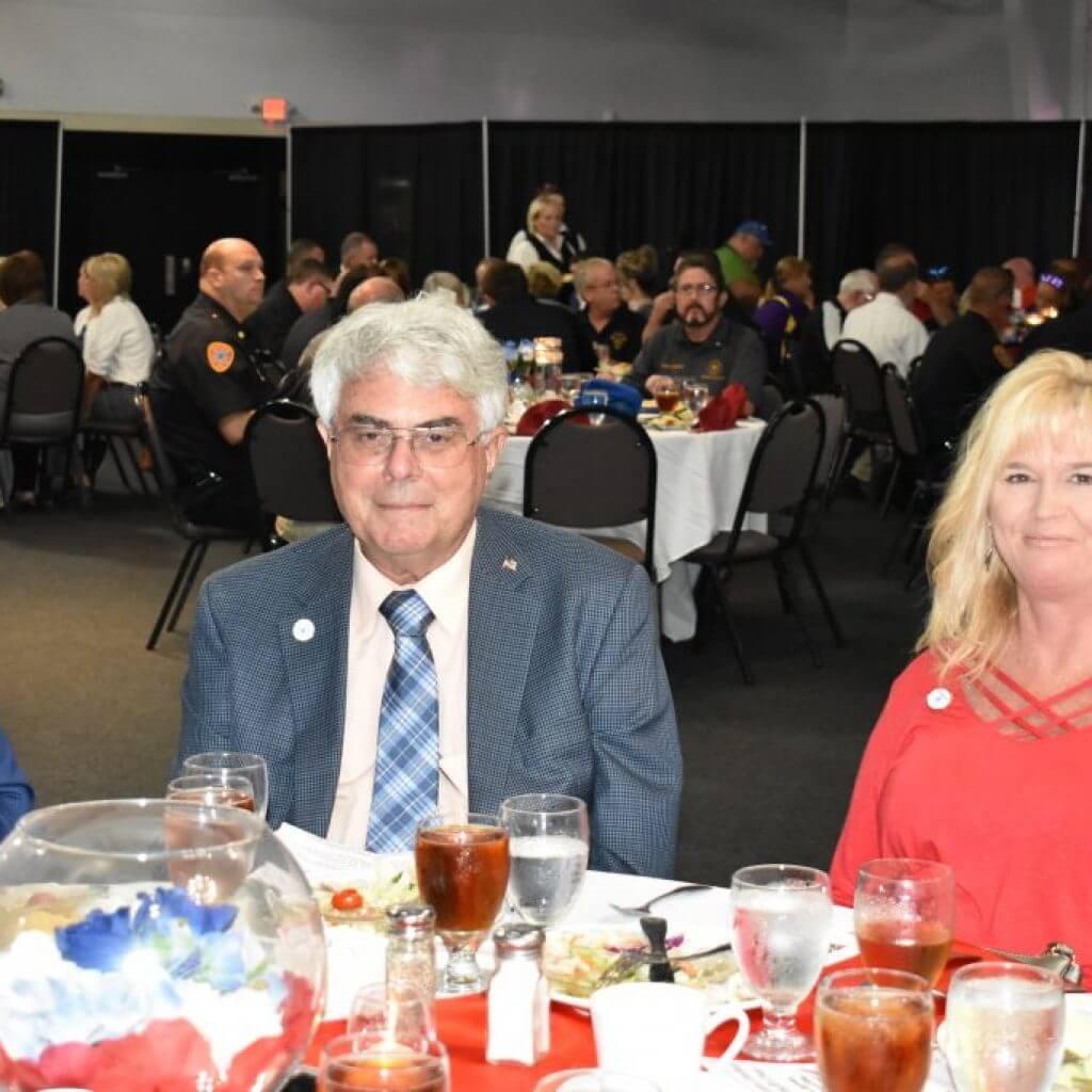 Judge Executive Summers and Lori.